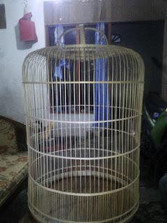Sangkar Burung Bulat