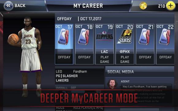 NBA 2K18 Mod Apk