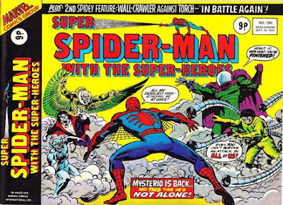 Super Spider-Man with the Super-Heroes #190, Mysterio