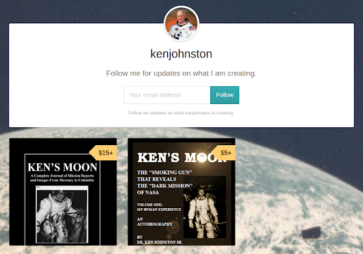 NEW BOOK!! KEN'S MOON - MISSION REPORTS!
