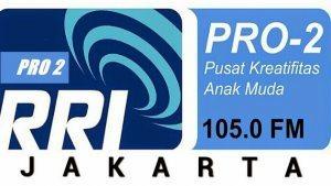 Streaming RRI Pro 2 FM 105.0 MHz Jakarta