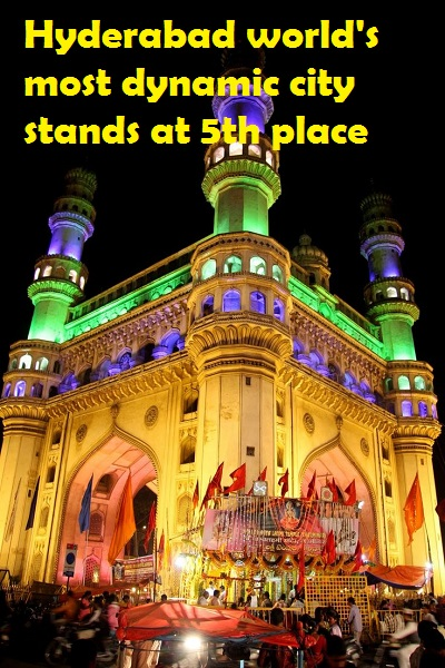 Hyderabad world's most dynamic city stands at 5th place