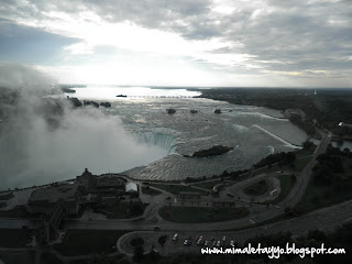 Amanece en Niagara Falls, ON