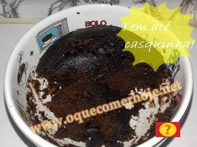 Como fazer brownie de caneca no microondas