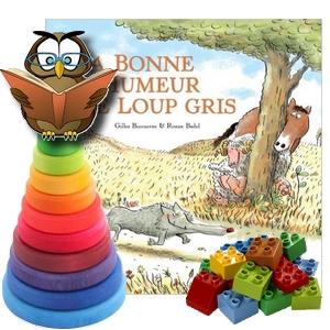 La bonne humeur de Loup Gris Bizouerne Badel