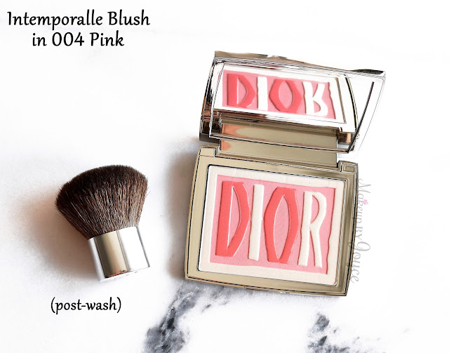 Dior Intemporalle Blush Palette 004 Pink Review Swatch