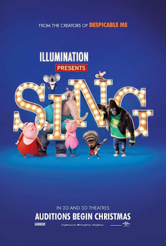 Sing (BRRip 720p Dual Latino / Ingles) (2016)
