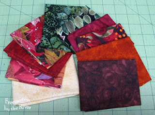 Fat Eights of fabric
