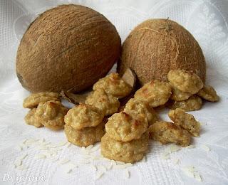 Miniaturki kokosowe z ryżu jaśminowego
