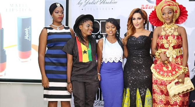 It was a fun and glamour last Sunday the 18th as movie star, Juliet Ibrahim launched Moda Lipsticks and shade by Juliet Ibrahim as Meets Media held september edition  of the monthly media networking gathering at the prestigious Oriental Hotel, Victoria Island, Lagos. 360nobs co-founder, Oye Akideinde featured as the media personality of the month. The hangout which creates an enabling environment for communication professionals to interact with themselves and other media houses attracted about 300 people from prints,online,TV and Radio. Hosted by Cute Kimani, the event saw 360nobs founders, Tonia Soares and Oye Akideinde fireside chat with Juliet Ibrahim as she launched her beauty care brand(Moda Lipsticks and shade by Juliet Ibrahim) The highlight of the event was the presentation of 'The Broad' achievements award to the media personality of the month, Oye Akideinde. Pavian Cakes were also present at the event to celebrate with the media personality, Oye Akideinde with a well designed 360nobs cake for take home. Present at the event were Nollywood heavy weight actors, star musicians, media personalities, entertainers, others. Connect with Meets Media on @MeetsMedia on Instagram, Twitter and Facebook for updates on next month's event. See pictures from the event below.