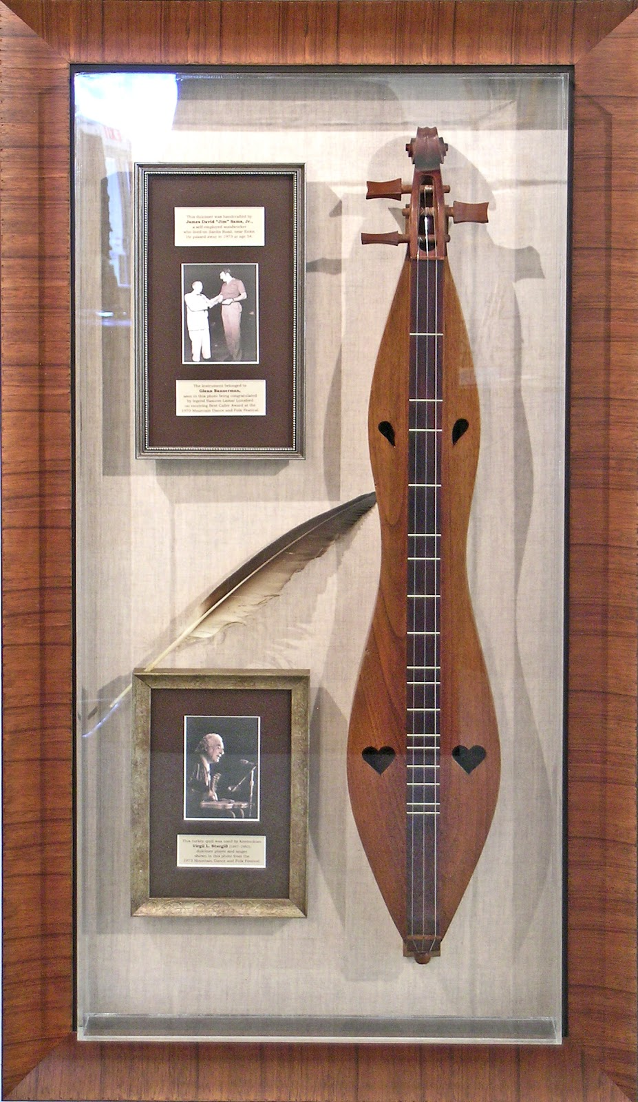Folk Heritage Committee Announces Sale of Historic Dulcimer