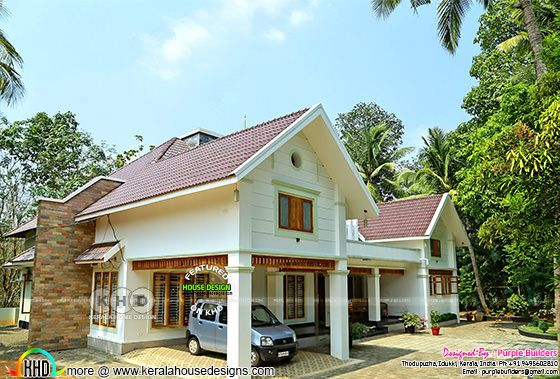 Constrution finished 4 bedroom Kerala home design
