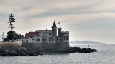 castle by the sea, Vina Del Mar