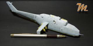 Mi24A, scale model