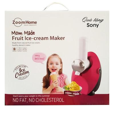 Máy làm kem quà tặng từ Sony
