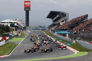 Latihan Bebas 1 (FP1) F1(Formula 1) Spanyol