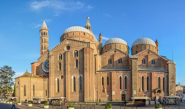 Basílica di Sant'Antonio em Pádua na Itália