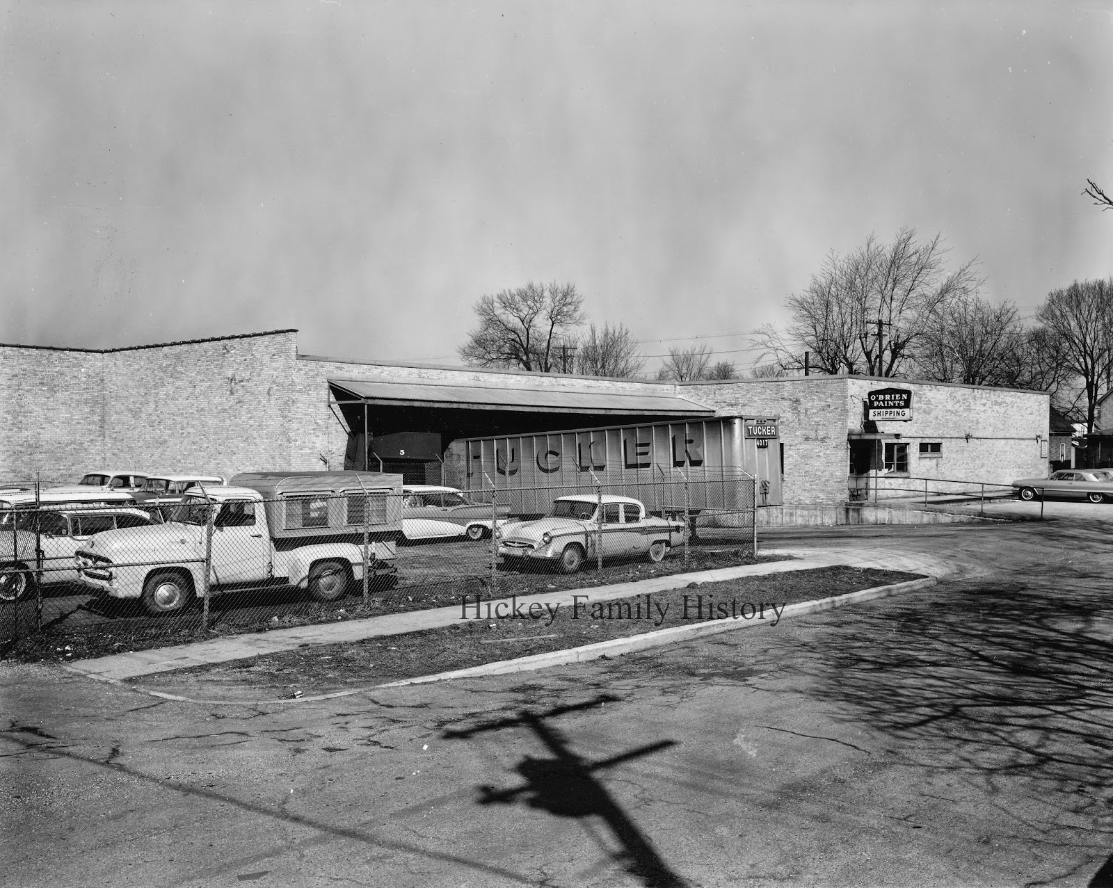 1957 thomas l hickey inc completed the o brien paint factory addition in south bend
