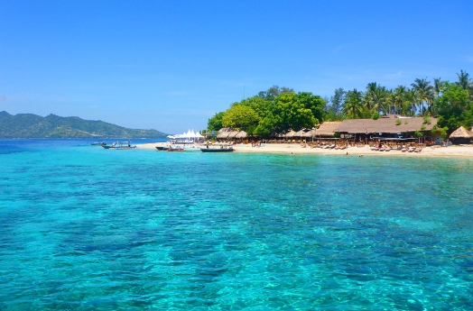 Gili meno Indonesia Travel