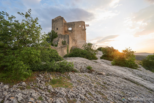 The castle in Vaison-la-Romaine