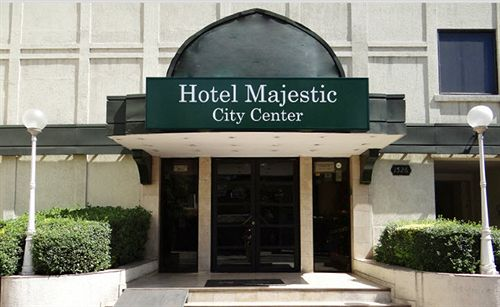Hotel Majestic no centro turístico de Santiago do Chile