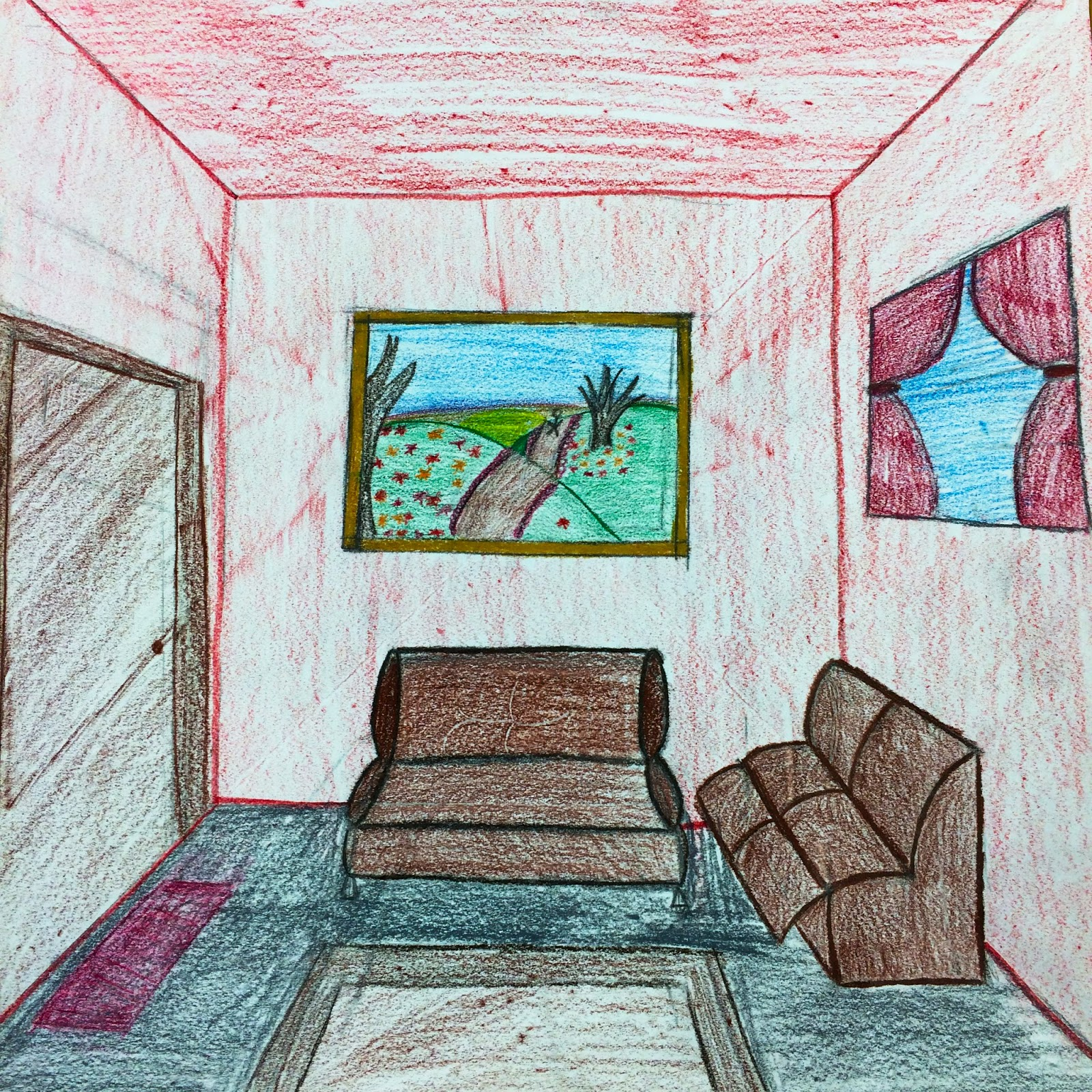 The Helpful Art Teacher: Draw a Surrealistic Room in One ...
