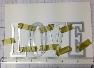 large letters framelits zena kennedy independent stampin up demonstrator