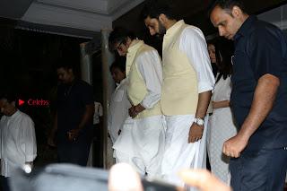 Actress Aishwarya Rai Father Prayer Meet Set 1  0064.JPG