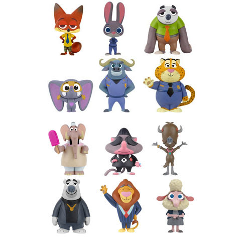 Zootopia By Funko As Pop Vinyls Amp Mystery Minis