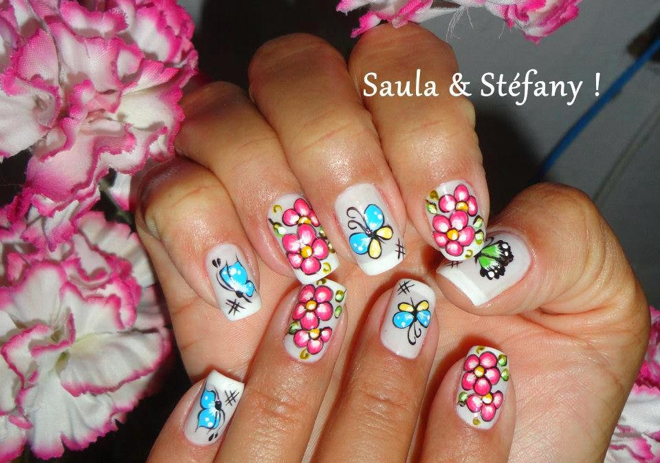 Modern Nails Decorated Easy and Nice | Art Designs and Ideas