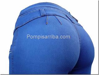 Pantalones colombianos, pompis arriba Jeans Mayoreo de jeans para dama