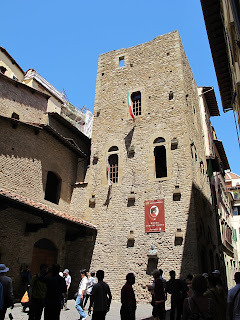 Dante's house in Via Santa Margherita in Florence, which is now a museum