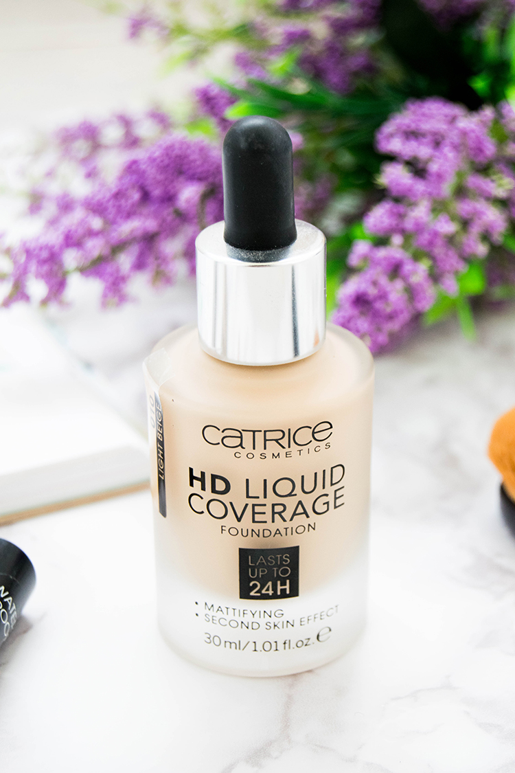 review base catrice hd