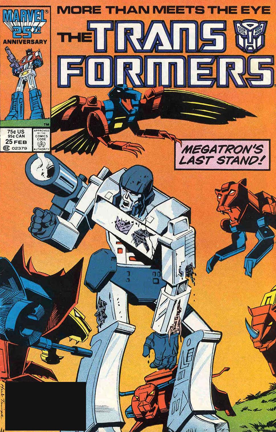 G I JOE VS THE TRANSFORMERS (1987) | The Marvel Comics Guide