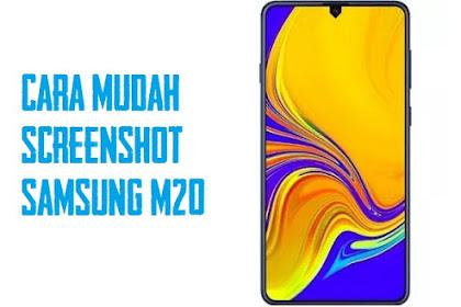 3 Cara Screenshot Samsung Galaxy M20 Dengan Mudah