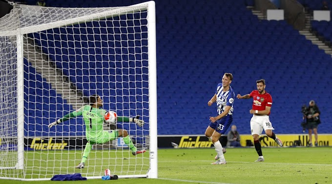 Brighton 0 - 3 Manchester United Full Match Video Highlight