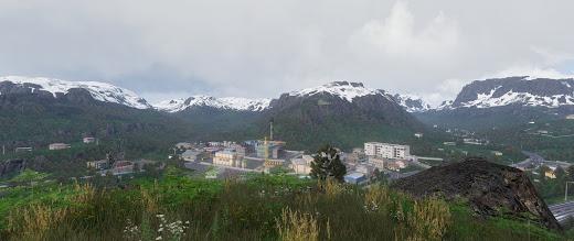 ノルウェーの山岳を Arma 3 へ実装する Vidda マップ MOD