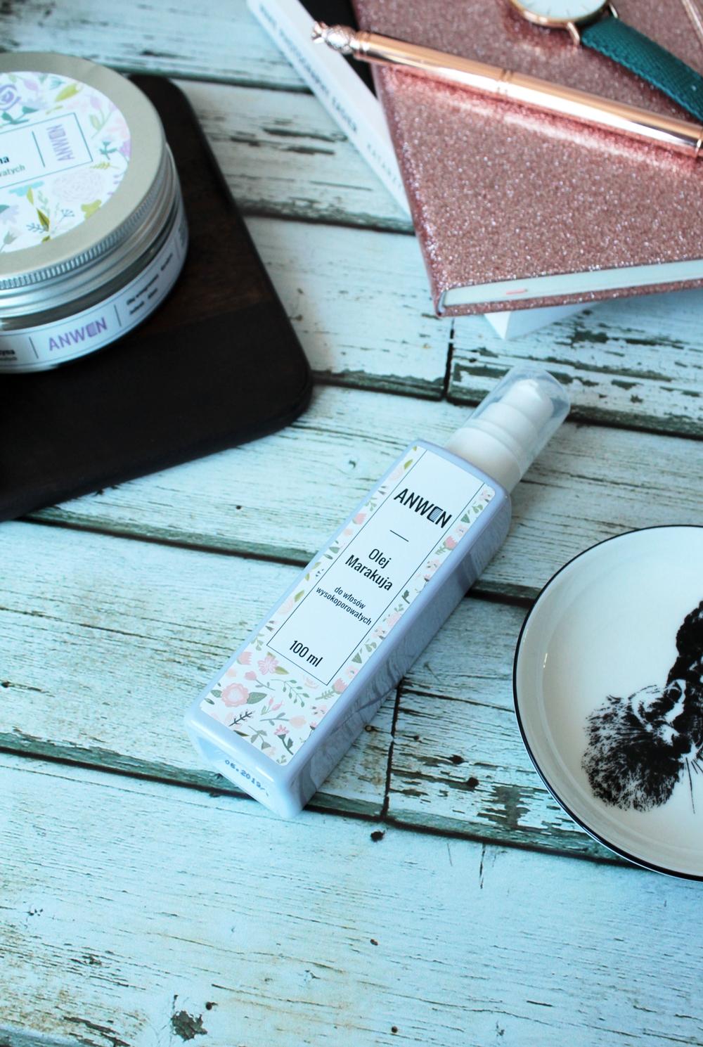 Włosy | 3 kosmetyki Anwen w akcji