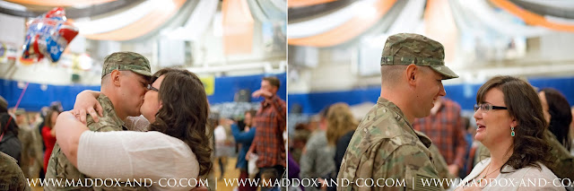 Fort Carson CO Military Homecoming Photographer