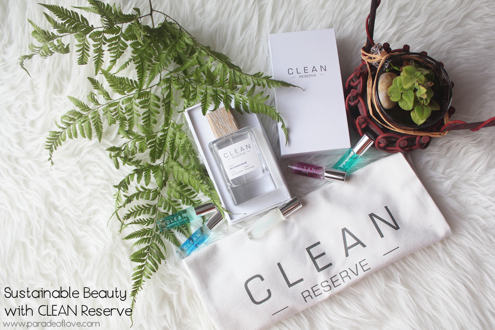 Sustainable Beauty with CLEAN Reserve