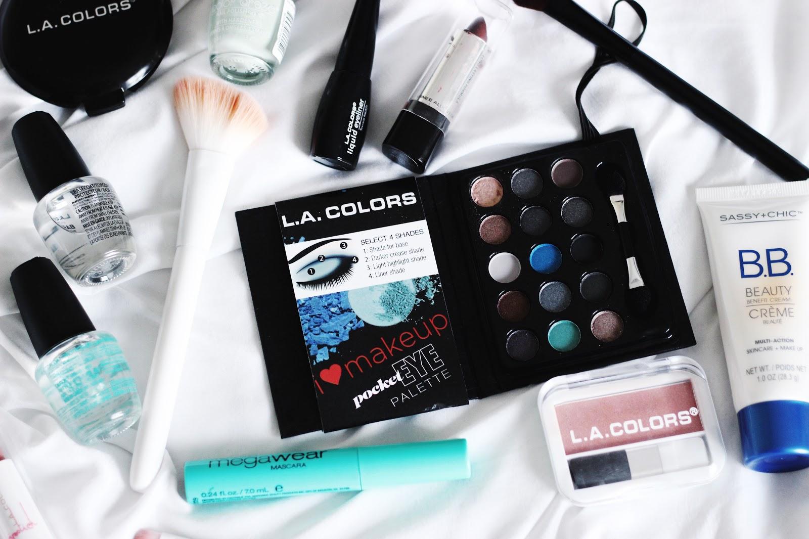 Dollar Store Makeup Challenge + First Impressions : Laura Neuzeth