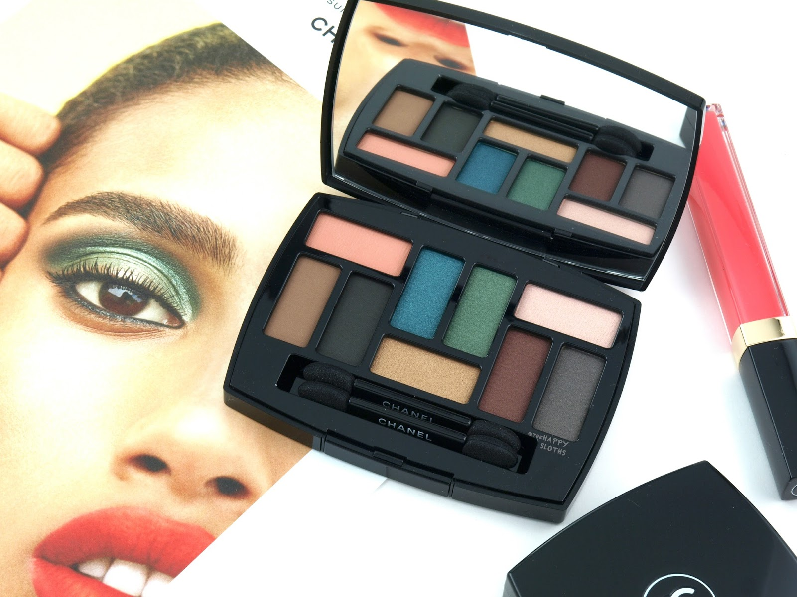 Chanel Spring/Summer 2018 | Les 9 Ombres Palette Édition N°1: Affresco: Review and Swatches