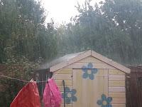 Rain on Shed