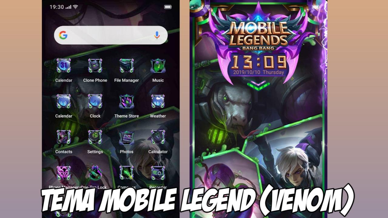 Tema Mobile Legend Keren Realme dan OPPO