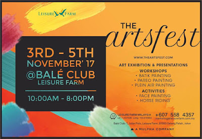 THE ART FEST | LEISURE FARM RESORT GELANG PATAH