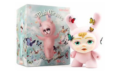 "The Dreamer Dunny 8"" Vinyl Figure by Mab Graves x Kidrobot"