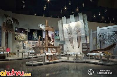 Bảo Tàng Và Đài Tưởng Niệm Quốc Gia 11/9 xây dựng để tưởng niệm những cuộc chiến công.