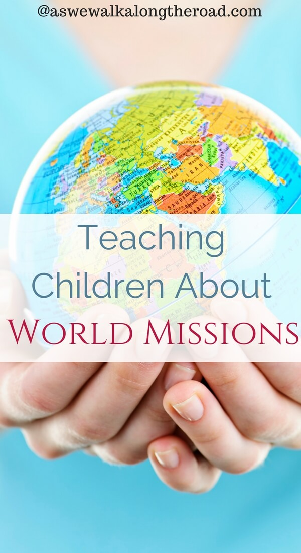 Teaching children about world missions