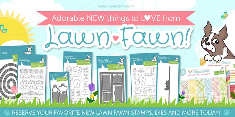 Lawn Fawn Sprint 2018 Release