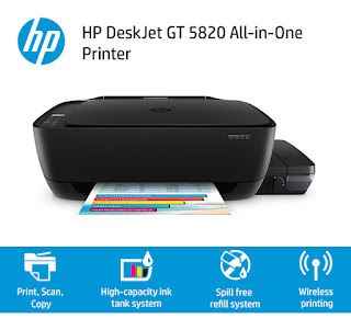HP Wireless GT 5820 All-in-One Printer Driver Download